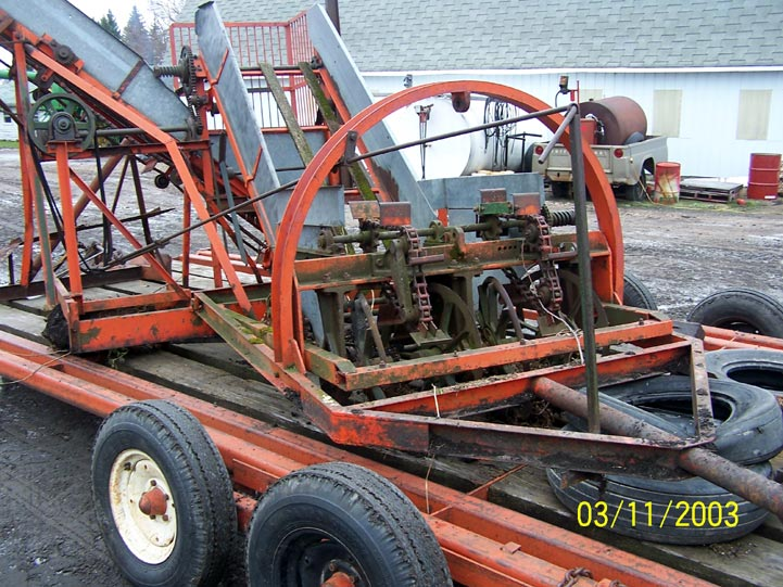 Kingwize 2 row harvester